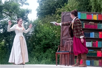 Open AirTheatre - The Hound of the Baskervilles at Burton Constable