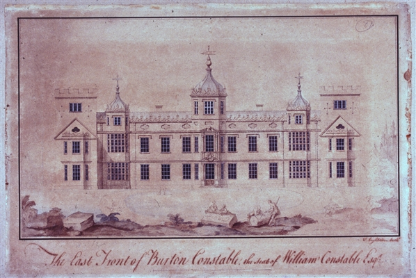 Lightoler Architectural Drawing of Burton Constable